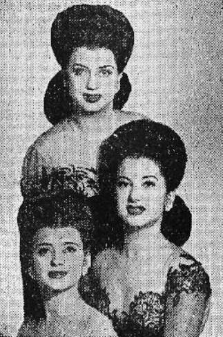 """Photo of The DeCastro Sisters – """"Teach Me Tonight"""""""