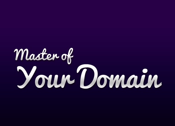 Master-of-Your-Domain