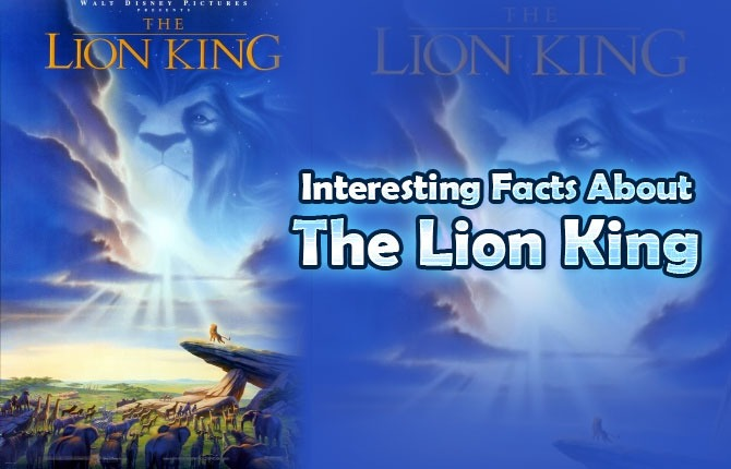 Photo of Interesting Facts About The Lion King