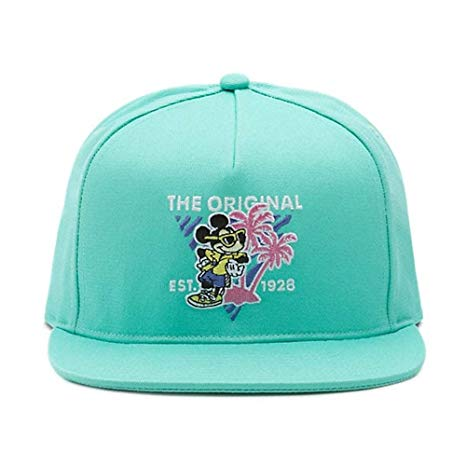 Vans-X-Disney-Mickey-Mouse-80-s-Snapback-Hat-Light-Green