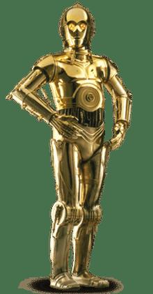 C-3PO, Star Wars: A New Hope (1977)